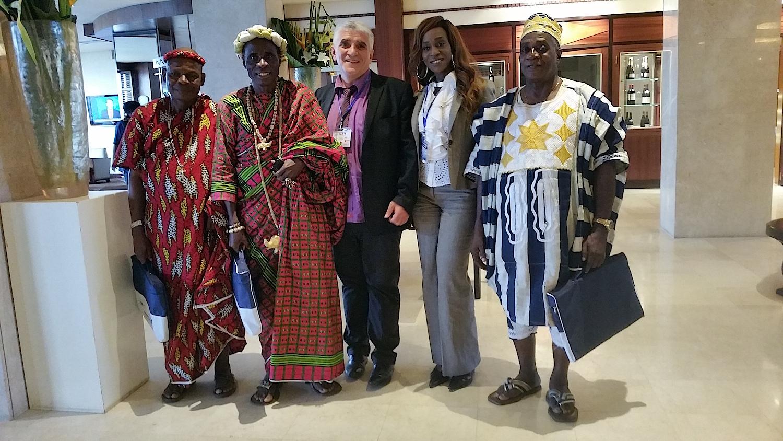 Les chefs traditionnels ont salué le discours de Jean-louis Lascoux